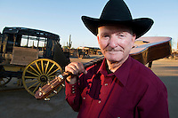 Arizona historian, cowboy singer, storyteller, teacher and humorist  Marshall Trimble is author of 20 books of Arizona and southwestern history and its characters. When Arizonans think history expert they think of Trimble.