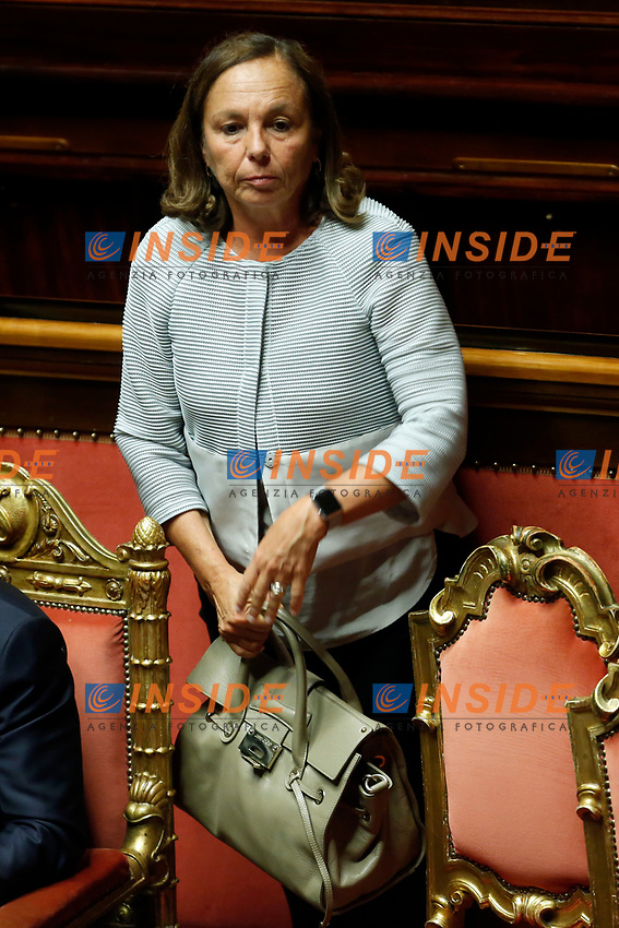 Luciana Lamorgese<br /> Rome September 10th 2019. Senate. Discussion and Trust vote at the new Government. <br /> Foto  Samantha Zucchi Insidefoto
