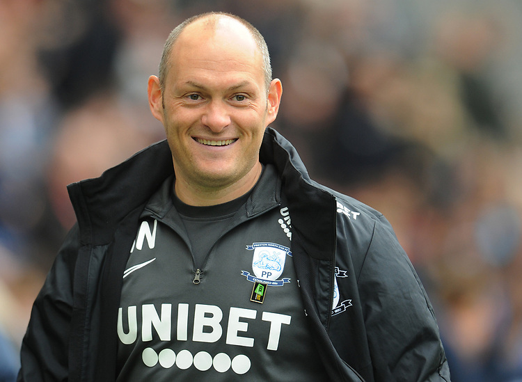 Preston North End manager Alex Neil <br /> <br /> Photographer Kevin Barnes/CameraSport<br /> <br /> The EFL Sky Bet Championship - Preston North End v Barnsley - Saturday 5th October 2019 - Deepdale Stadium - Preston<br /> <br /> World Copyright © 2019 CameraSport. All rights reserved. 43 Linden Ave. Countesthorpe. Leicester. England. LE8 5PG - Tel: +44 (0) 116 277 4147 - admin@camerasport.com - www.camerasport.com