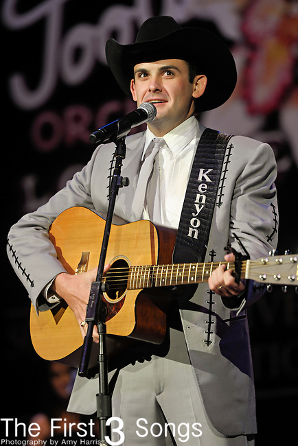 KENYON LOCKRY performs at the Ryman Auditorium for Tootsie's Orchid Lounge 50th Anniversary Celebration in Nashville, Tennessee on November 8, 2010.