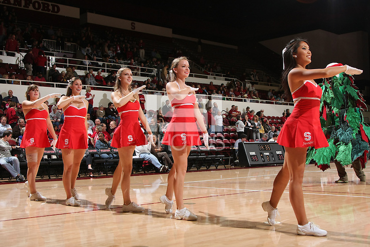 STANFORD, CA - NOVEMBER 20:  The Stanford Dollies during Stanford's 84-46 win over the University of New Mexico on November 20, 2008 at Maples Pavilion in Stanford, California.