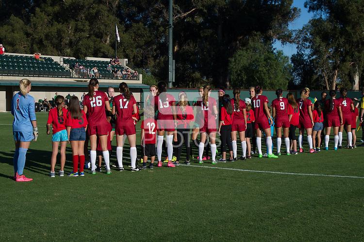 Stanford, CA, October 11, 2015.Stanford Women\'s Soccer vs. University of Oregon. Stanford won 1-0.