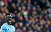 Eliaquim Mangala of Manchester City during the Premier League match between Crystal Palace and Manchester City at Selhurst Park, London, England on 31 December 2017. Photo by Andy Rowland.