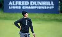 Thorbjorn Olesen of Denmark looks on during the Final Round of the 2015 Alfred Dunhill Links Championship at the Old Course, St Andrews, in Fife, Scotland on 4/10/15.<br /> Picture: Richard Martin-Roberts | Golffile
