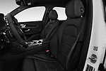 Front seat view of a 2018 Mercedes Benz GLC-Class 300 5 Door SUV front seat car photos