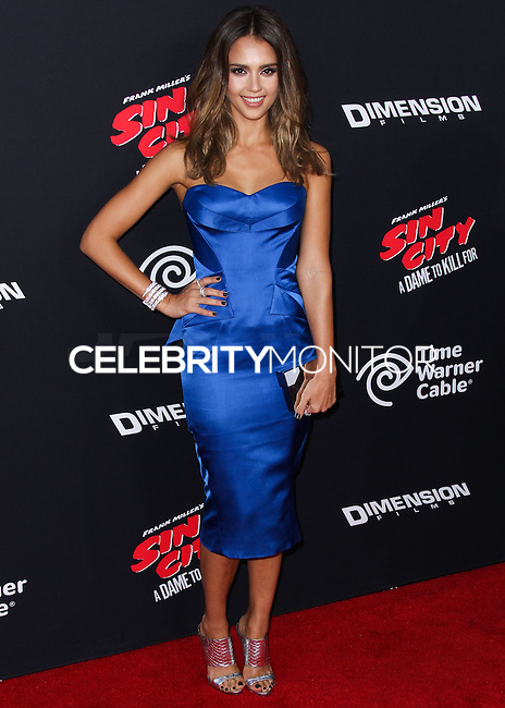 HOLLYWOOD, LOS ANGELES, CA, USA - AUGUST 19: Jessica Alba at the Los Angeles Premiere Of Dimension Films' 'Sin City: A Dame To Kill For' held at the TCL Chinese Theatre on August 19, 2014 in Hollywood, Los Angeles, California, United States. (Photo by Xavier Collin/Celebrity Monitor)