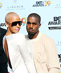 Amber Rose and Kanye West at the 2009 BET Awards at the Shrine Auditorium in Los Angeles on June 28th 2009..Photo by Chris Walter/Photofeatures