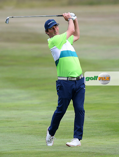 Pedro Linhart of Spain during the First Round of The Senior Open at Sunningdale Golf Club, Sunningdale, England. Picture: Golffile | Richard Martin-Roberts<br /> All photo usage must carry mandatory copyright credit (&copy; Golffile | Richard Martin- Roberts)