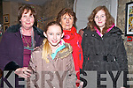 "Pat Shortt Concert : Attendin the Pat Shortt concert "" I am the Band"" at St John's Arts Centre, Listowel on Saturday night last were Jennifer Murphy, kay Ryan, Olivia Nix & Marelle Murphy."