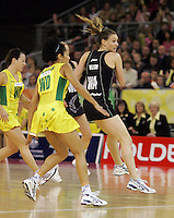 21.07.2007 Silver Ferns Adine Wilson In action during the Silver Ferns v Australia Netball Test Match at Vodafone Arena, Melbourne Australia. Mandatory Photo Credit ©Michael Bradley.