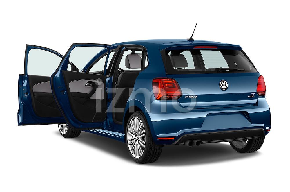 Car images of 2016 Volkswagen Polo Blue-GT 5 Door Hatchback Doors