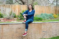 Co-founder of Noosa Finest Yoghurt, Koel Thomae (cq) in Boulder, Colorado, Friday, May 1, 2015. <br /> <br /> Photo by Matt Nager