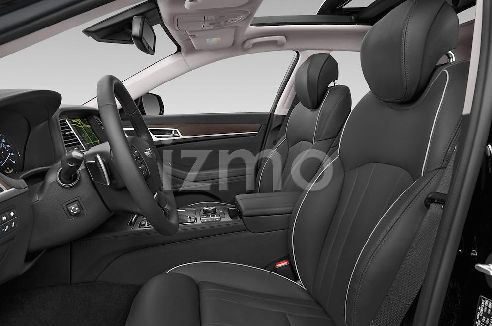 Front seat view of a 2015 Hyundai Genesis 3.8 4 Door Sedan Front Seat car photos
