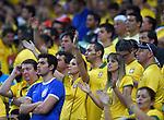 Brazil fans (BRA),<br /> JULY 8, 2014 - Football / Soccer : FIFA World Cup 2014 semi-finals match between Brazil 1-7 Germany at Mineirao stadium in Belo Horizonte, Brazil.<br /> (Photo by FAR EAST PRESS/AFLO)