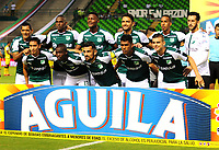 PALMIRA-COLOMBIA-19-04-2018: Los jugadores de Deportivo Cali, posan para una foto, durante partido entre Deportivo Cali y Alianza Petrolera, de la fecha 16 por la liga Aguila I 2018, jugado en el estadio Deportivo Cali (Palmaseca) en la ciudad de Palmira. / The players of Deportivo Cali, pose for a photo, during a match between Deportivo Cali and Alianza Petrolera, of the 16th date for the Liga Aguila I 2018, at the Deportivo Cali (Palmaseca) stadium in Palmira city. Photo: VizzorImage  / Nelson Rios / Cont.