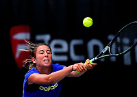 Suzy Larkin (Great Britain). 2017 Wellington Open tennis championship finals at Renouf Tennis Centre in Wellington, New Zealand on Friday, 22 December 2017. Photo: Dave Lintott / lintottphoto.co.nz