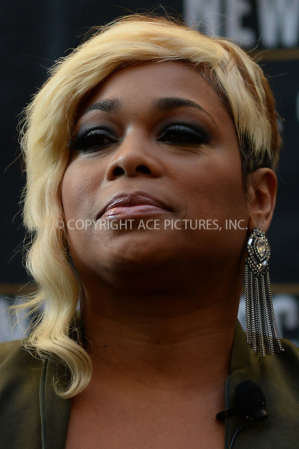 WWW.ACEPIXS.COM<br /> January 20, 2015 New York City<br /> <br /> Chilli attending a New Kids on The Block Press Conference at Madison Square Garden on January 20, 2015 in New York City. <br /> <br /> By Line: Kristin Callahan/ACE Pictures<br /> ACE Pictures, Inc.<br /> tel: 646 769 0430<br /> Email: info@acepixs.com<br /> www.acepixs.com