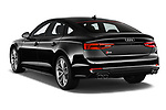 Car pictures of rear three quarter view of a 2017 Audi S5 Sportback Base 5 Door Hatchback angular rear