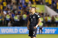 17th November 2019; Bezerrao Stadium, Brasilia, Distrito Federal, Brazil; Final FIFA U-17 World Cup Final match 2019, Mexico versus Brazil; Victor Guzman of Mexico looks dejected after the 2-1  defeat to Brazil after the match