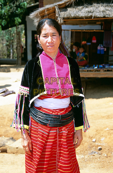 Woman from Palong Hill Tribe, Chiang Dao District, Chiang Mai Province, Northern Thailand