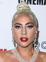 LOS ANGELES, EUA, 29.11.2018 - LADY-GAGA - A atriz e cantora Lady Gaga é vista no gala americana anual das concessões da cinemateca no Hilton Hotel em Beverly Hills, Los Angeles, Califórnia, Estados Unidos na noite desta quinta-feira, 29. (Foto: Brazil Photo Press)