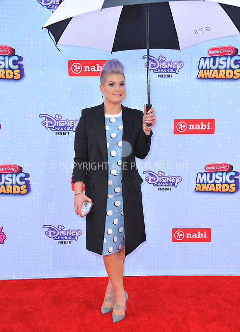 WWW.ACEPIXS.COM<br /> <br /> April 25 2015, LA<br /> <br /> Kelly Osbourne arriving at the 2015 Radio Disney Music Awards at Nokia Theatre L.A. Live on April 25, 2015 in Los Angeles, California.<br /> <br /> By Line: Peter West/ACE Pictures<br /> <br /> <br /> ACE Pictures, Inc.<br /> tel: 646 769 0430<br /> Email: info@acepixs.com<br /> www.acepixs.com