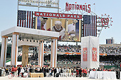 Washington, DC - April 17, 2008 -- Wide view of Nationals Park as Pope Benedict XVI celebrates Mass in Washington, D.C. on Thursday, April 17, 2008. This is the first non-baseball event in the park, which opened March 31..Credit: Ron Sachs / CNP.(RESTRICTION: NO New York or New Jersey Newspapers or newspapers within a 75 mile radius of New York City)