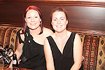 Catherine Smith and Dawn Kavanagh at the Quiz in Foleys in aid of The Cancer Society and Crumlins Children Hospital...Picture Jenny Matthews/Newsfile.ie