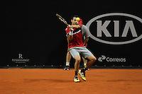 SAO PAULO,SP, 29.11.2015 - TENIS-ATP - Inigo Cervantes durante partida contra Daniel Muñoz-de-la Nava , válida pelo ATP Challenger Tour Finals, realizado no Esporte Clube Pinheiros, zona oeste da cidade de São Paulo, neste domingo, (29). (Foto: Douglas Pingituro/Brazil Photo Press)