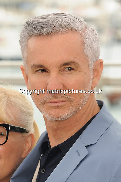 """NON EXCLUSIVE PICTURE: PAUL TREADWAY / MATRIXPICTURES.CO.UK.PLEASE CREDIT ALL USES..WORLD RIGHTS..Australian director Baz Luhrmann attending """"The Great Gatsby"""" photo call, during the 66th International Cannes Film Festival, France...MAY 16th 2013..REF: PTY 133268"""