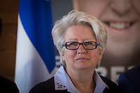 PQ MNA for the riding of Taschereau Agnes Maltais is pictured during the presentation of parti Quebecois candidates for the upcoming byelection Tuesday May 5, 2015.
