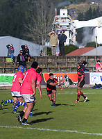 Action from the King Country rugby match between Waitete and Taumarunui Rugby And Sports Club at Rugby Park in Te Kuiti, New Zealand on Saturday, 14 July 2018. Photo: Dave Lintott / lintottphoto.co.nz