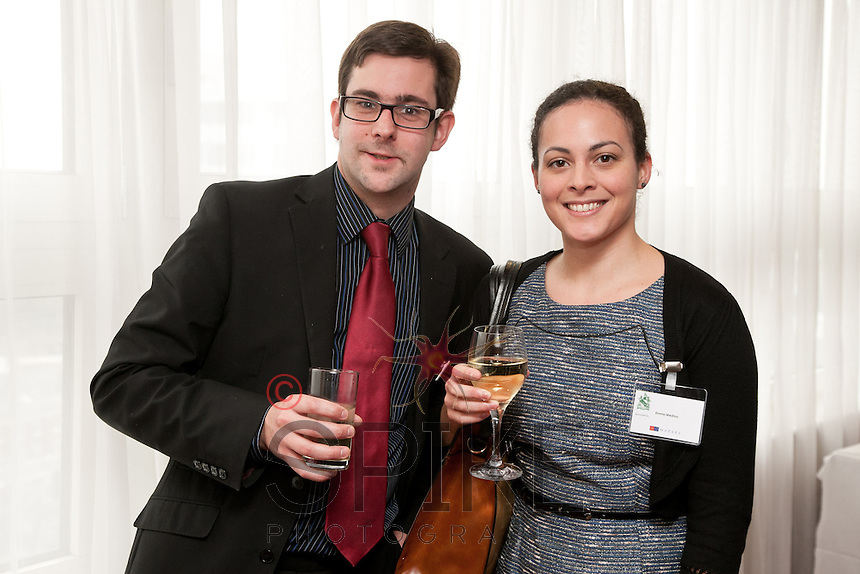 Andrew Rule of Mazars and Emma Medina of Freeth Cartwright