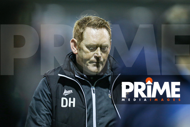 David Hopkin (Manager) of Bradford City during the Sky Bet League 1 match between Luton Town and Bradford City at Kenilworth Road, Luton, England on 27 November 2018. Photo by David Horn.