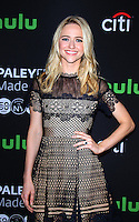 NEW YORK, NY-October 17:Johanna Braddy at PaleyFest New York presents Quantico at the Paley Center for Media in New York.October 17, 2016. Credit:RW/MediaPunch