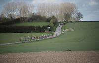 leading echelon on the move<br /> <br /> 78th Gent - Wevelgem in Flanders Fields (1.UWT)