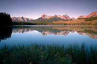 Little Redfish Lake. Idaho United States Sawtooth National Recreation Area.