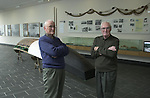 The evacuation of the Blasket Islands in 1953 was recalled at the weekend and brother Micheal (83) and Mairtin (81) O'Cearna, who grew up on the Blasket Islands , Co. Kerry but now live in Springfield, Mass, USA travelled over for the event.  They are pictured above on a nostaligc trip throught  The Blasket island Centre in Dun Chaoin at the weekend.<br />Picture: Eamonn Keogh (MacMonagle, Killarney)<br />Story by Anne Lucey