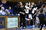 15 November 2016: Duke head coach Joanne P. McCallie. The Duke University Blue Devils hosted the Longwood University Lancers at Cameron Indoor Stadium in Durham, North Carolina in a 2016-17 NCAA Division I Women's Basketball game. Duke won the game 105-48.