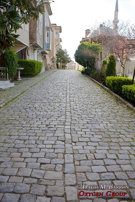 Cobblestone Street Next To Hagia Sophia