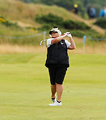 Laura Davies during the final round  of the 2016 Aberdeen Asset Management Ladies Scottish Open played at Dundonald Links Ayrshire from 22nd to 24th July 2016:  Picture Stuart Adams, www.golftourimages.com: 22/07/2016