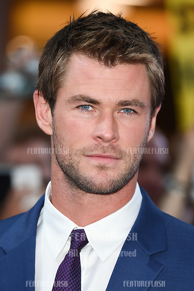 """Chris Hemsworth arrives for the """"Avengers: Age of Ultron"""" European premiere at the Vue cinema, Westfield London. 21/04/2015 Picture by: Steve Vas / Featureflash"""