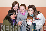 FUND: A fundraising day by the pupils of Ardfert National School on Sunday at Ardfert Community Centre. Getting their faces painted by Fiona Ladden were Karen O'Shea, Rachel Stack, Diarmuid O'Connor and Katie Foley. .