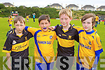 Dr Crokes and Shannon Gaels New York players Lucas O'Sullivan, Liam O'Connell, Harry Byrne and Pascal Kavanagh who played in a blitz in Lewis Road on Saturday