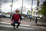 © Joel Goodman - 07973 332324 . 3 May 2013 . Manchester , UK . Martin Solomon (20 , correct) was diagnosed with Hodgkin's Lymphoma but , after successful treatment , has made a recovery and is now looking forward to returning to University . Photo credit : Joel Goodman