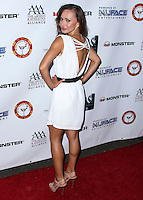 WEST HOLLYWOOD, CA, USA - JULY 14: Karina Smirnoff arrives at the 9th Annual All-Star Celebrity Kickoff Party held at the Mondrian Los Angeles on July 14, 2014 in West Hollywood, California, United States. (Photo by Xavier Collin/Celebrity Monitor)