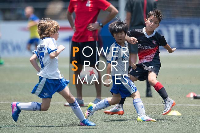 U-9 Juniors Tournament Cup Final match, part of the HKFC Citi Soccer Sevens 2017 on 28 May 2017 at the Hong Kong Football Club, Hong Kong, China. Photo by Marcio Rodrigo Machado / Power Sport Images