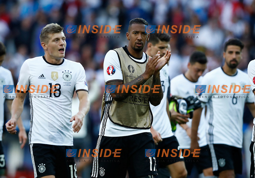 Jerome Boateng (Ger) celebration the the end of the match. esultanza vittoria partita<br /> Lille 26-06-2016 Stade Pierre Mauroy Football Euro2016 Germany - Slovakia  / Germania - Slovacchia Round of 16. Foto Matteo Ciambelli / Insidefoto