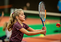Alphen aan den Rijn, Netherlands, December 18, 2019, TV Nieuwe Sloot,  NK Tennis, Kidsday<br /> Photo: www.tennisimages.com/Henk Koster