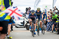 Picture by Alex Whitehead/SWpix.com - 09/09/2017 - Cycling - OVO Energy Tour of Britain - Stage 7, Hemel Hempstead to Cheltenham - JLT Condor's Russell Downing.